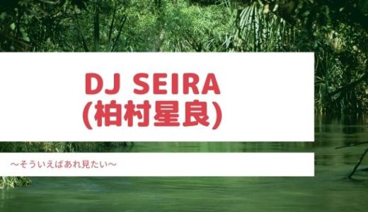 DJ SEIRA(柏村星良)の目は整形?すっぴんや年齢も気になる!