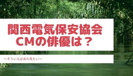 関西電気保安協会CMの関西人になった俳優は誰?
